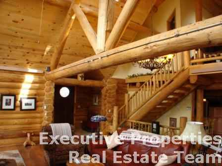 Custom Log Home Near Hill City